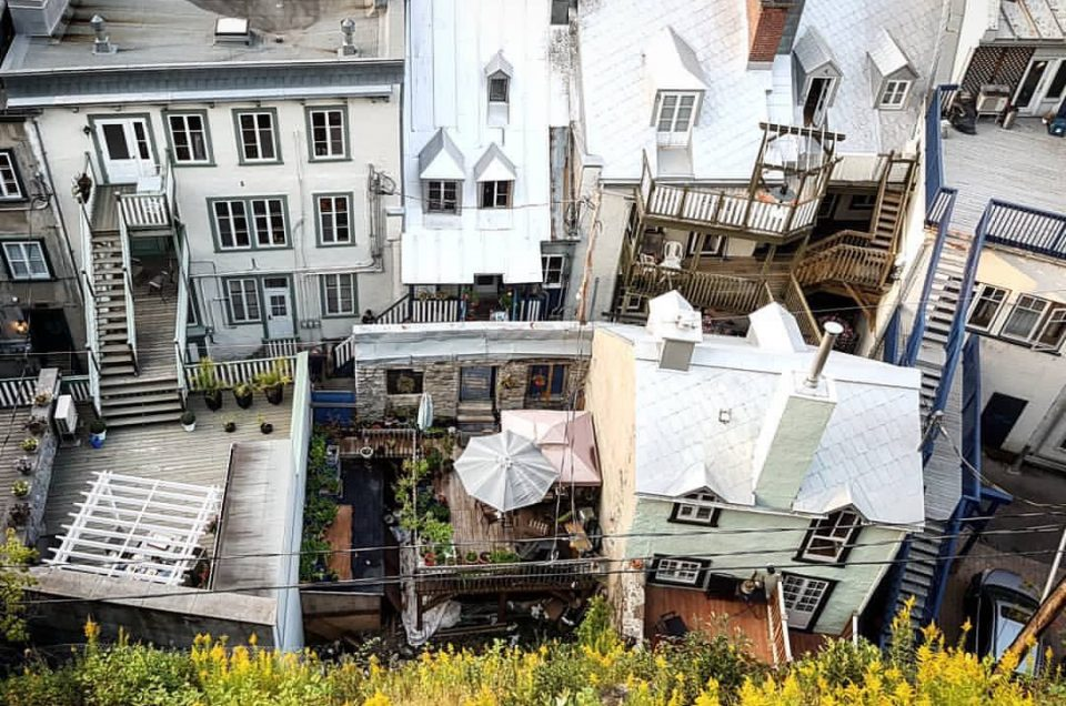 Quebec City From the Old to the New